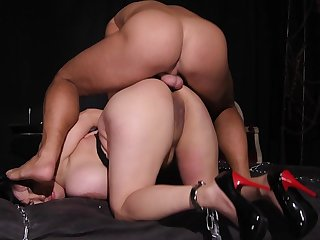 Asian with big tits, butt fucking extra special