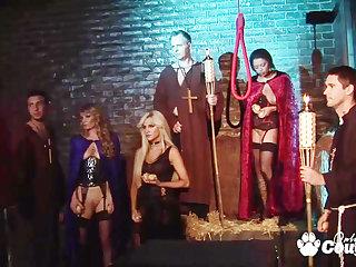 crazy fantasy sex orgy