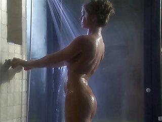 Rita Faltoyano gets her cunt eaten while she blows a cock