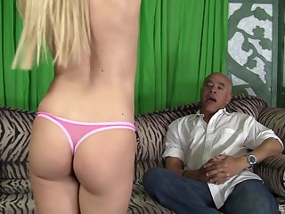 oversize friend's penis is everything that horny Brooklyn Joleigh
