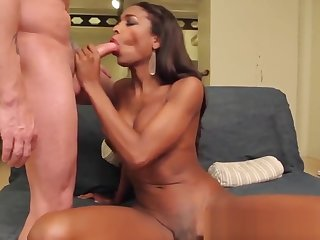 Big ass black shemale prostitute ass fucked for sweet cash