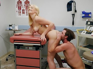 Female doctor wants this patient's dick in her warm fanny
