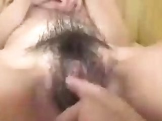 Hot and hairy korean sex POV