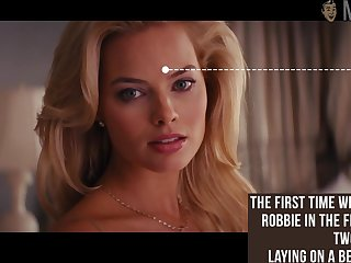 Naked Margot Robbie is one sexy passionate kisser with a hot body
