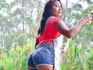 MAMACITAZ - Amazing POV Action With Sexy Teen Sandra Jimenez