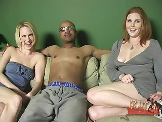 Two sluts Cherry Poppens and Ruth Blackwell please one BBC