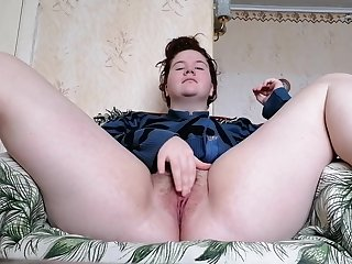 Amateur Girl Masturbates Her Holes, Video Report To The Guy