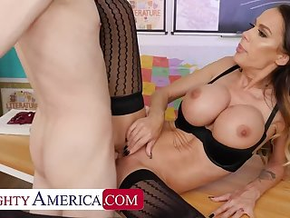 McKenzie Lee fucks her student so he can focus better at class
