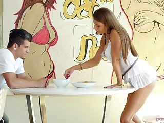 Cute Dillion Carter knows precisely what a kinky pauper wants from her