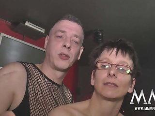 MMV FILMS German Amateur Orgy Swingers