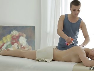All lubed chick with small tits Vika Volkova gets brutally analfucked