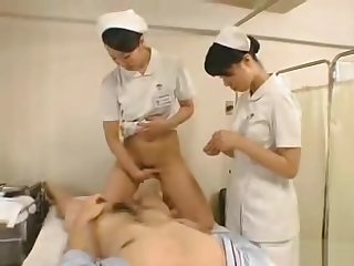 Japanese patients line up for their weekly sex therapy