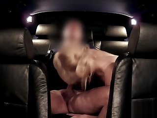 Police man anal fingers blonde slut in car