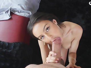 Slender, Mexican dark-haired is bare and sexually aroused because she is about to get plowed highly rock hard